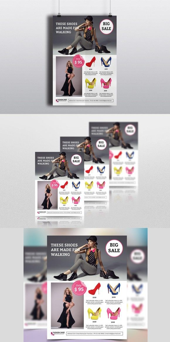 Fashion Product Promotion Flyer V338 Promotion Flyer Template And