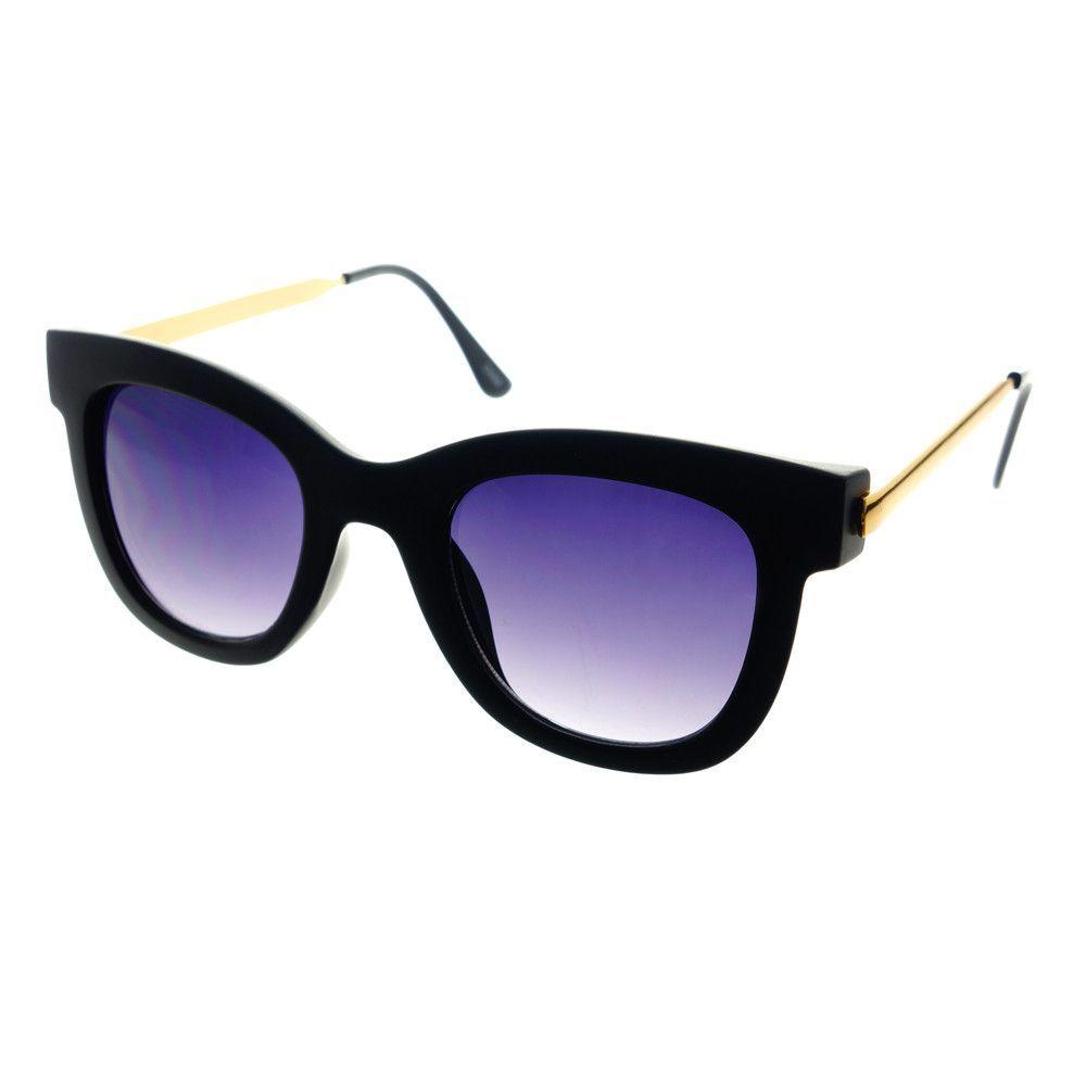 Retro Fashion Designer Womens Metal Arms Cat Eye Sunglasses C1020