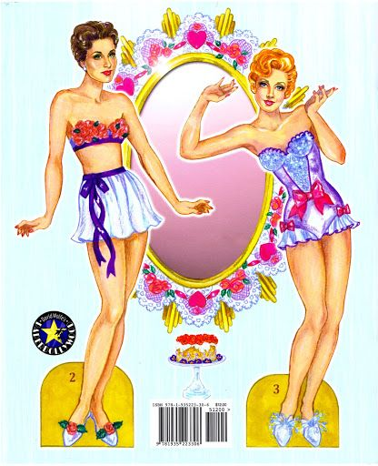 Hollywood Confections Paper Doll by David Wolfe - Katerine Coss - Picasa Web Albums