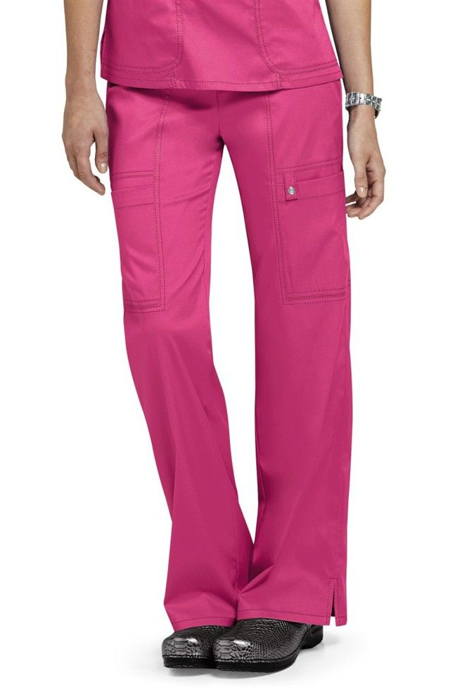 5863a1e594a Cherokee Luxe junior fit low rise cargo scrub pants. - Scrubs and Beyond