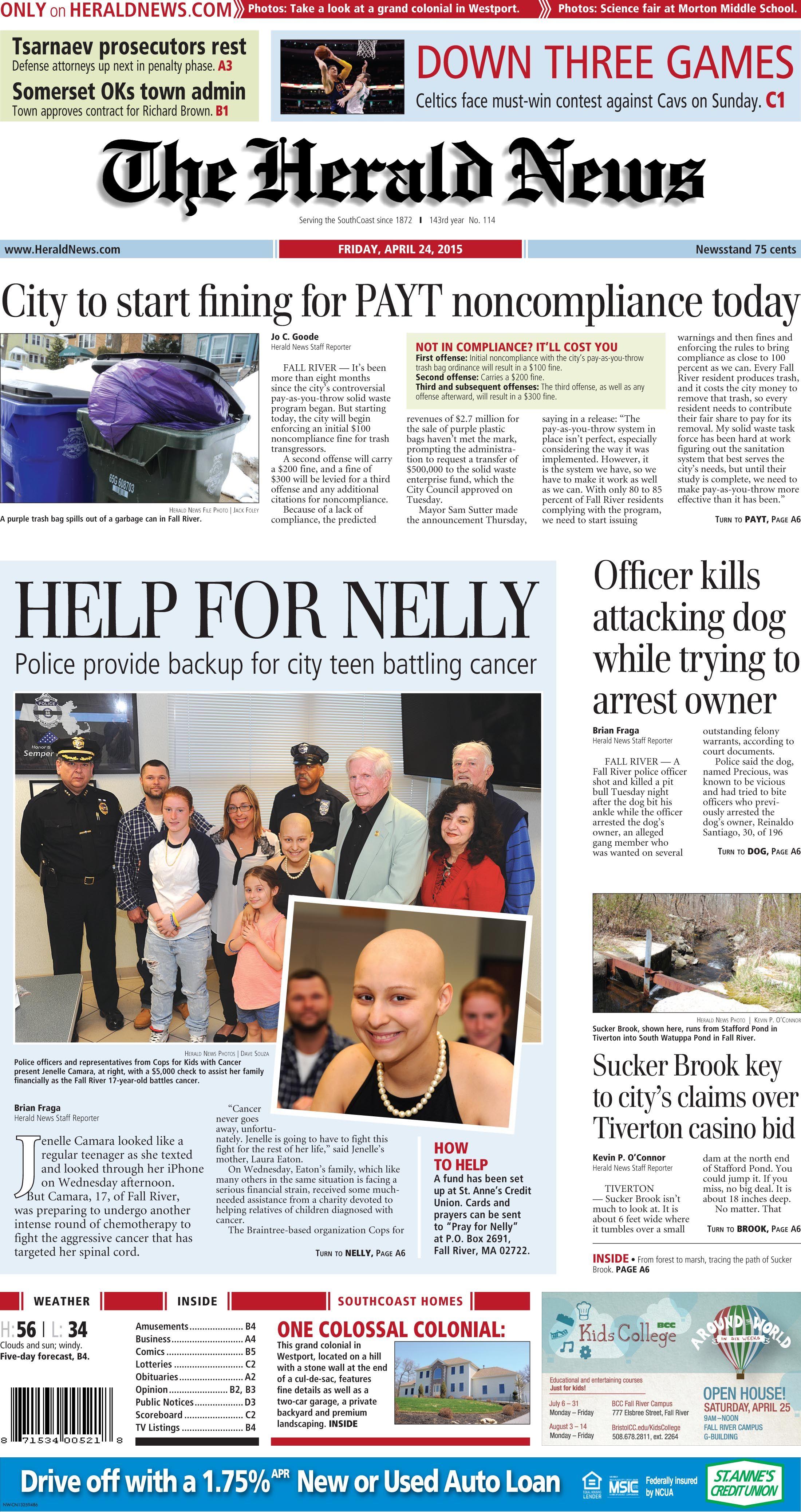 Fall River, MA  Herald news, Fall river, Herald