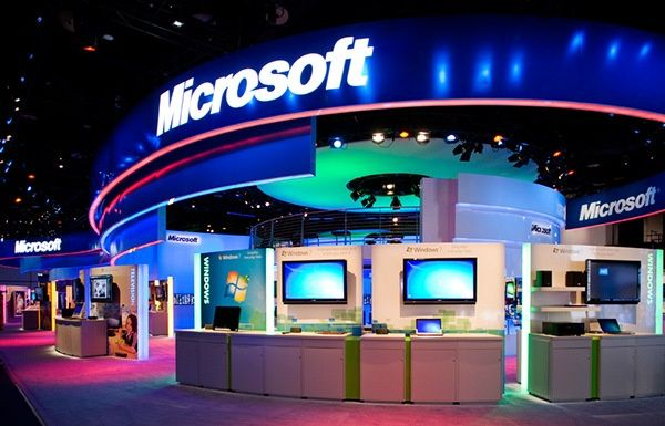 Trade Show Booth Lighting And Color Example Corporate