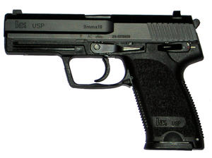 heckler and koch usp (universal self loading pistol) one of theheckler and koch usp (universal self loading pistol) one of the most accurate, durable, and reliable handguns in the world hk