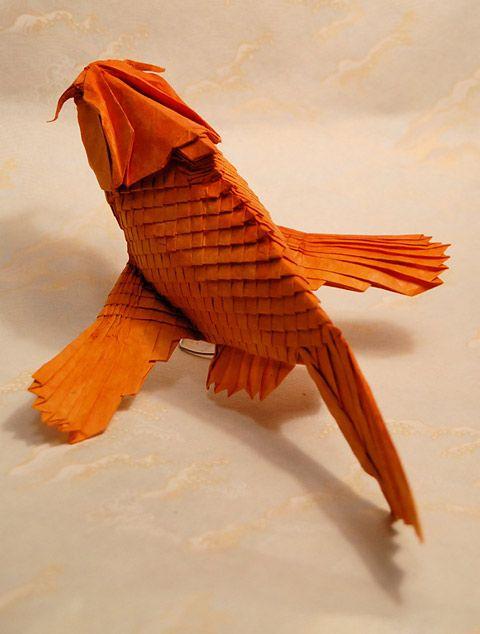 Origami Koi Fish Paper Art Japanese Pinterest Origami Carp