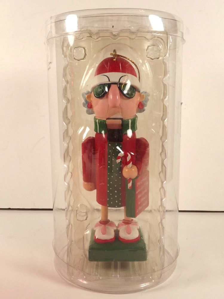Maxine Hallmark Nutcracker Ornament Christmas #Christmas # ...