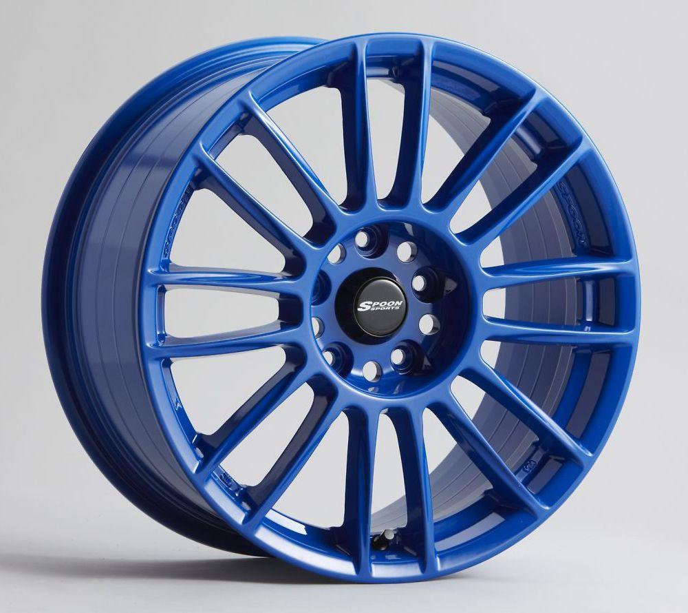 Spoon Sports CR93 Wheels Blue Rims for cars, Wheel rims