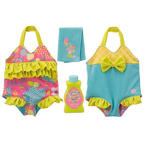Baby Alive Reversible Outfit Poolside Cutie Bathing Suit