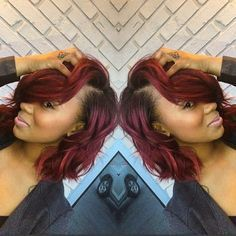 Ombre Hair Color for Black Women (67):
