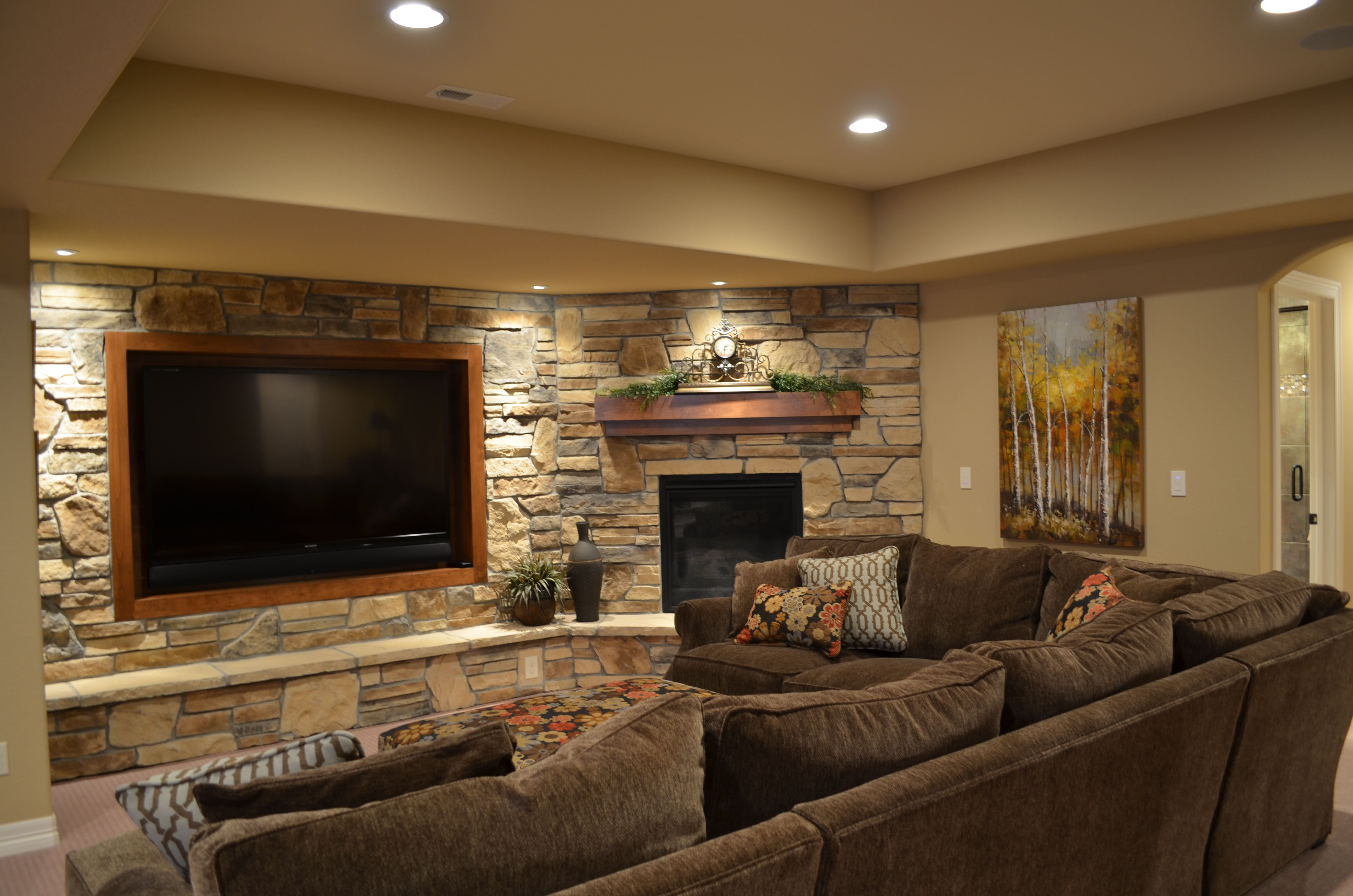 awesome Basement Living Room Decoration pictures
