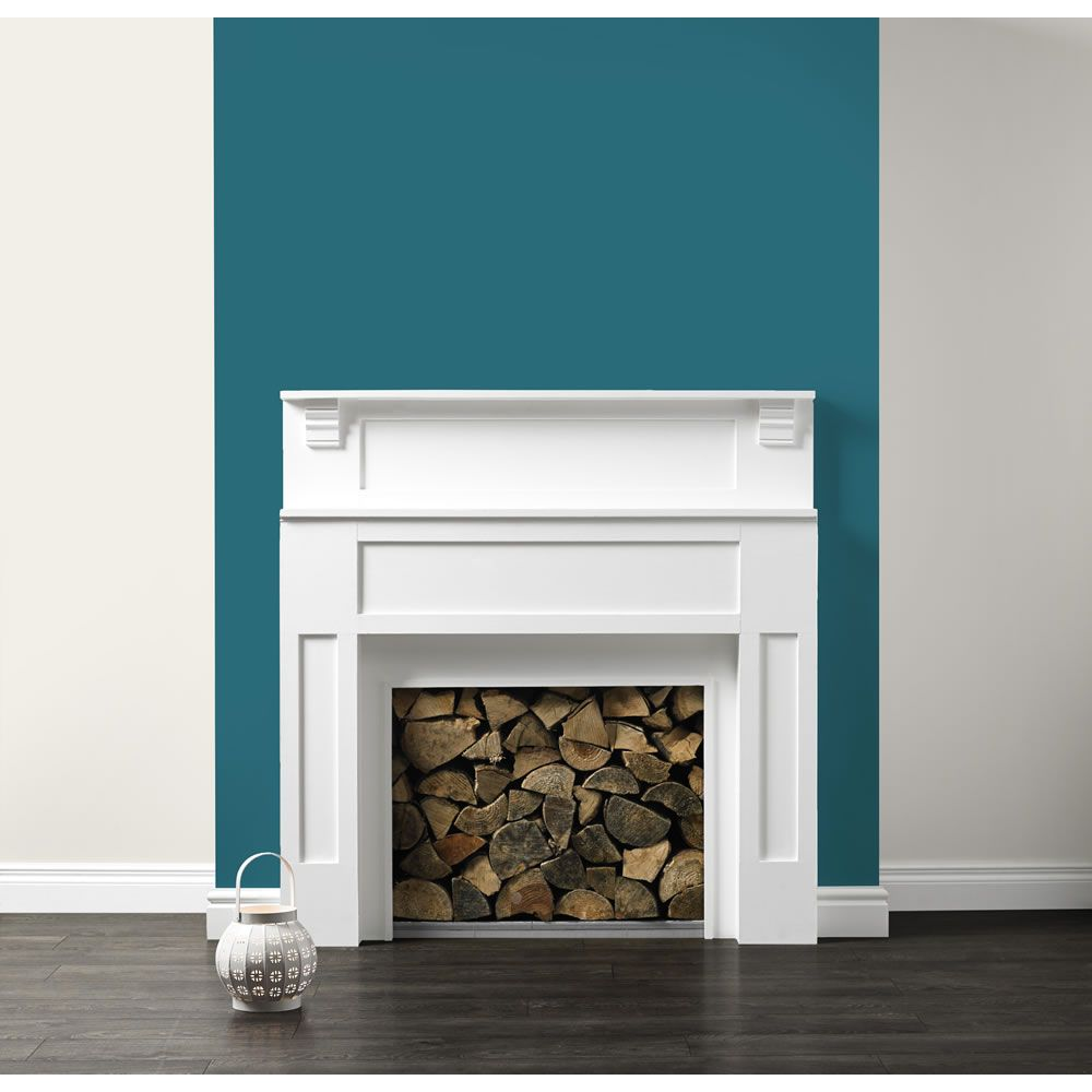 Master Bedroom Feature Wall Teal Feature Wall Google Search Dining Room Colour Inspiration