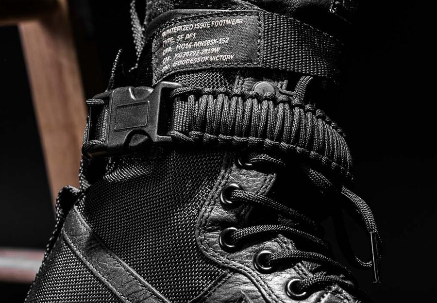 Sf Air Force 1 paracord ankle strap