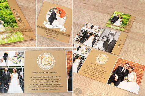Hochzeit Weddig Selber Machen Diy Anleitung Tutorial Deko Gastgeschenk Danke Dankeskarten Fotos Der Gaste Fotob Fotobuch Hochzeit Dankeskarten Hochzeit Gunstig
