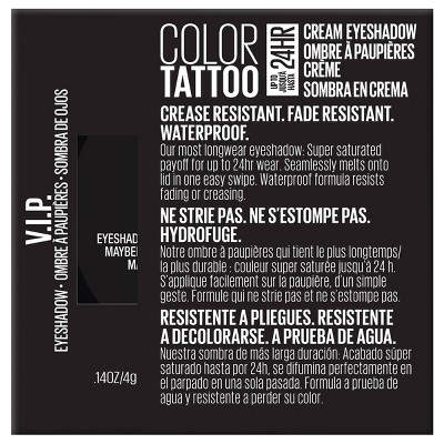 Maybelline Color Tattoo Front Runner