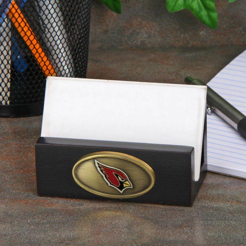 Arizona Cardinals Business Card Holder - Black | Products ...
