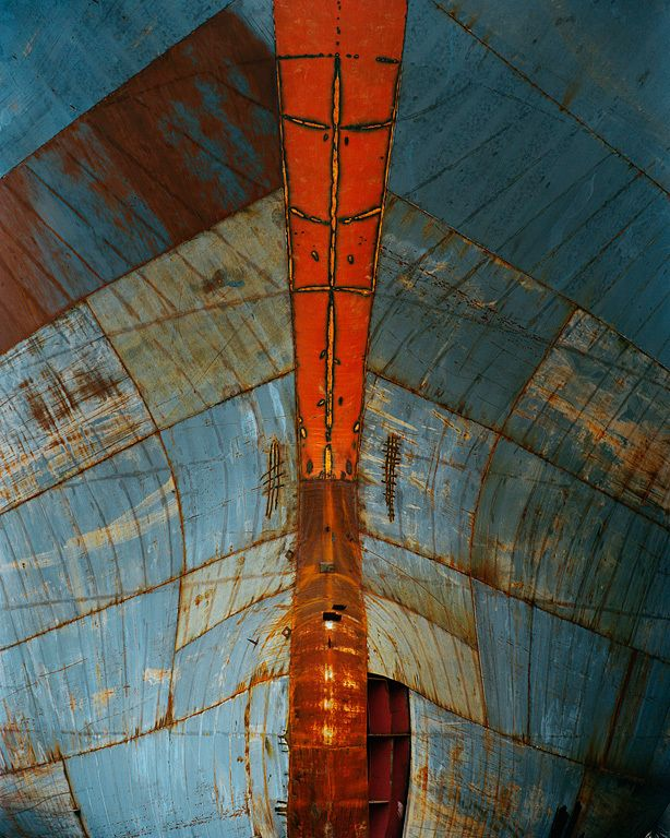 Edward Burtynsky, Shipyard #15, Qili Port, Zhejiang Province, China, 2005