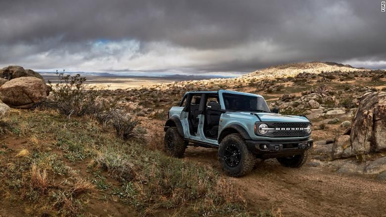 2021 Ford Bronco Reveal New Suvs Boast Of Jeep Beating Off Road Abilities Cnn In 2020 Ford Bronco Bronco New Bronco
