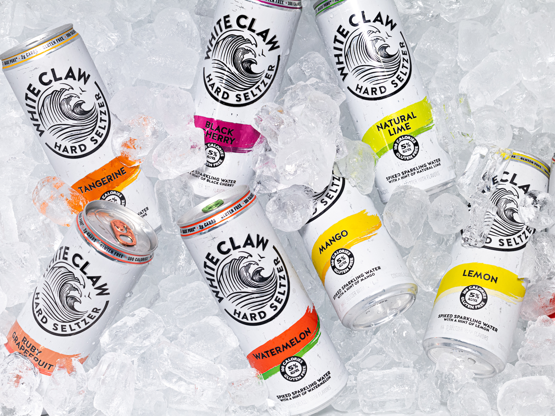 White Claw Just Launched 3 New Flavors As It Sets Its Sights On Another Summer Of Hard Seltzer Dominance White Claw In 2020 Slushies Hard Seltzer How To Make Drinks