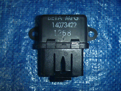 nice New 82-85 Buick Cadillac Chevrolet Pontiac Everco 2577 Cooling Fan Motor Relay - For Sale View more at http://shipperscentral.com/wp/product/new-82-85-buick-cadillac-chevrolet-pontiac-everco-2577-cooling-fan-motor-relay-for-sale/