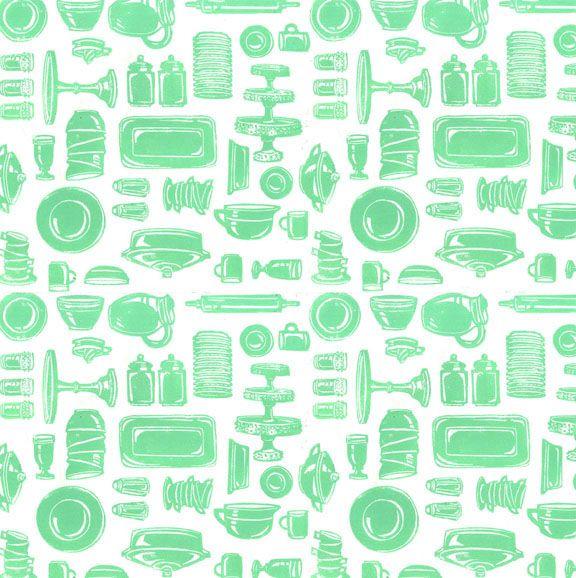 Jadeite Pattern / Lis Sartori. Fridge