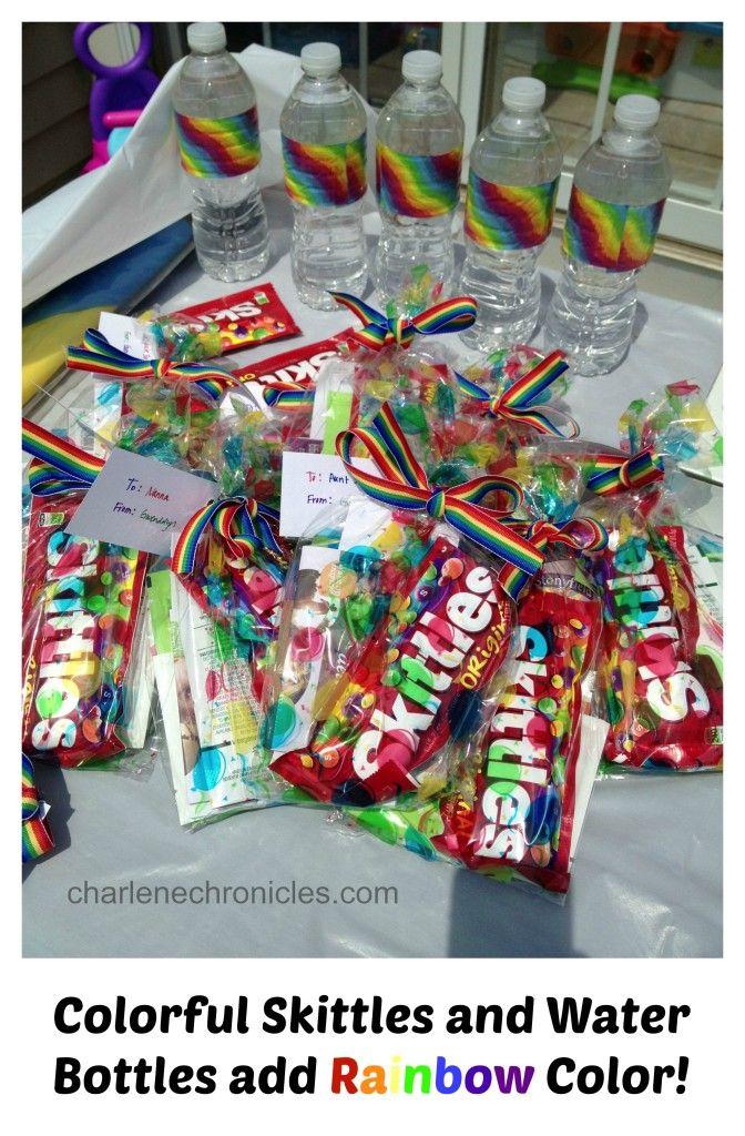 Birthday Party: Rainbow Theme - Charlene Chronicles