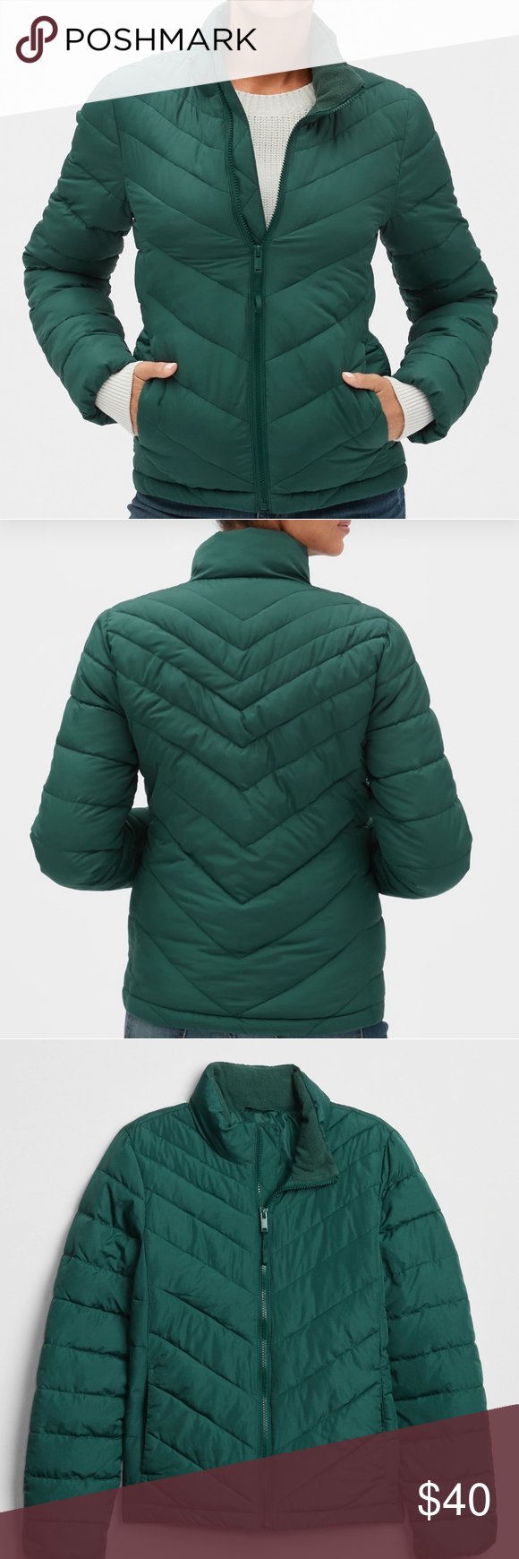 Lightweight Puffer Jacket Fit Sizing Straight Silhouette With A Slim Fit Hits At The Hip Product Details S Jackets Clothes Design Jackets For Women [ 1740 x 580 Pixel ]