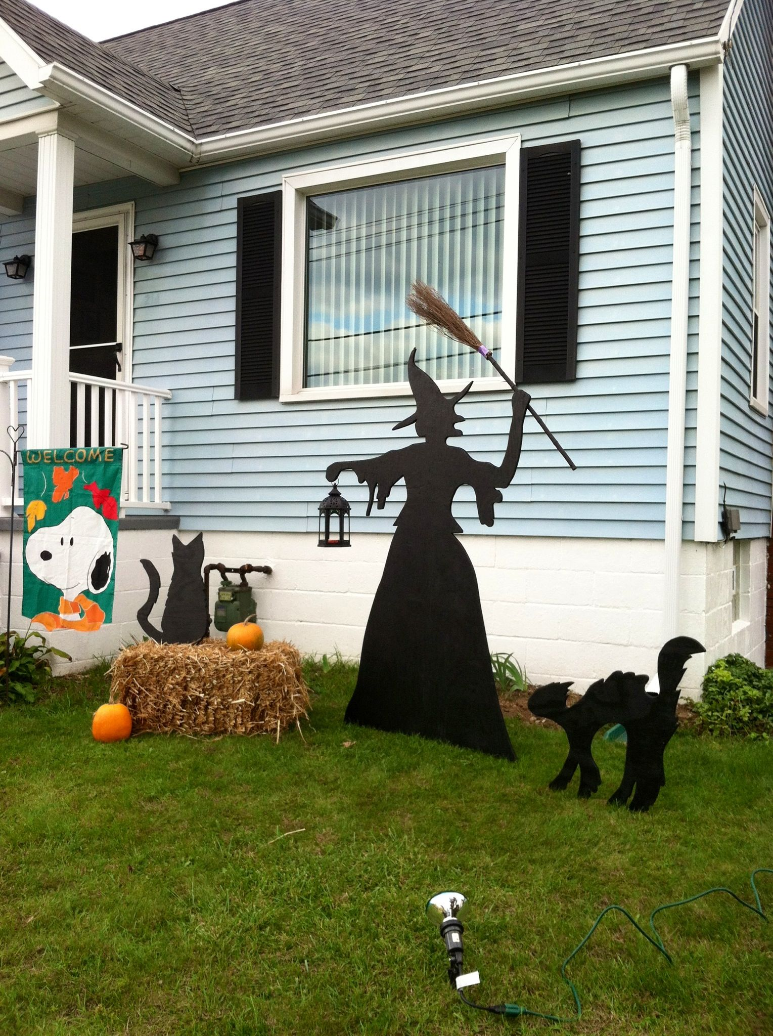 48 CREEPY OUTDOOR HALLOWEEN DECORATION IDEAS Pinterest Outdoor - Pinterest Outdoor Halloween Decorations