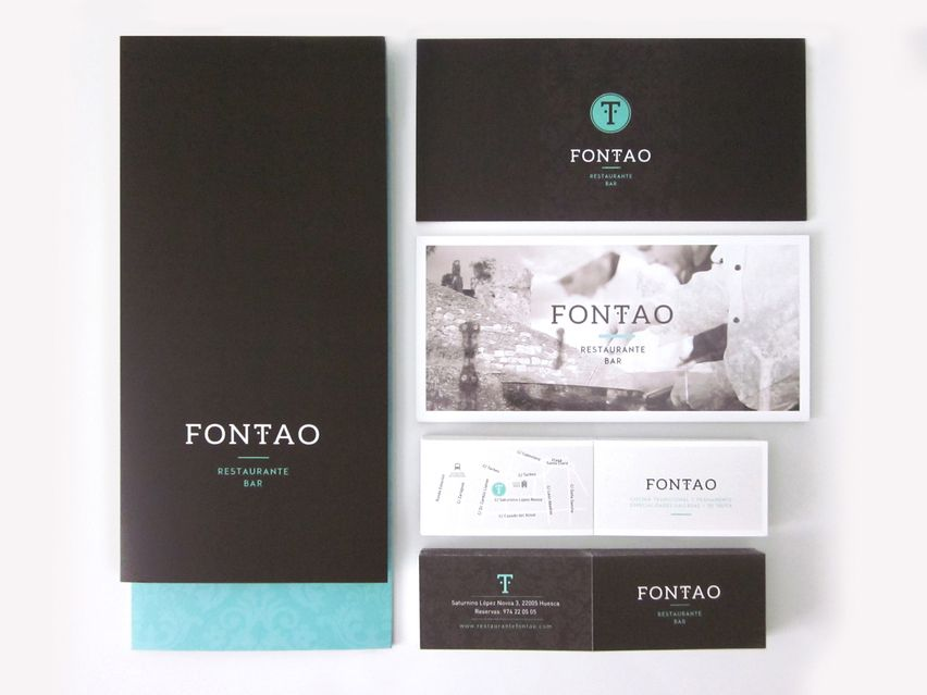 Identidad Corporativa Restaurante Fontao Un Proyecto De