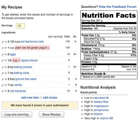 Try our recipe nutrition calculator calorie counting recipes and food try our recipe nutrition calculator forumfinder Image collections