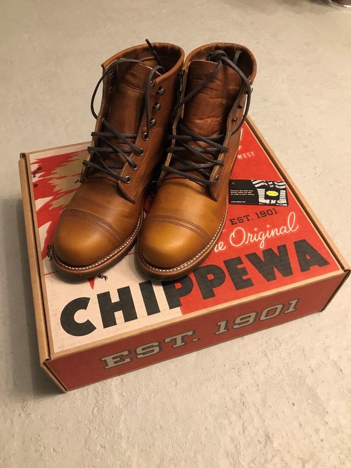 Chippewa Boots 6 Renegade Homestead 1901G47 Tan Herren