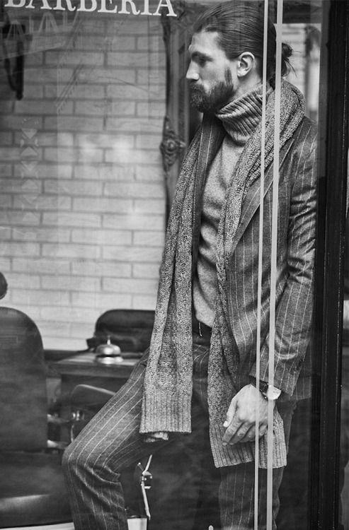 "Massimo Dutti""Barber Shop"" Editorial"