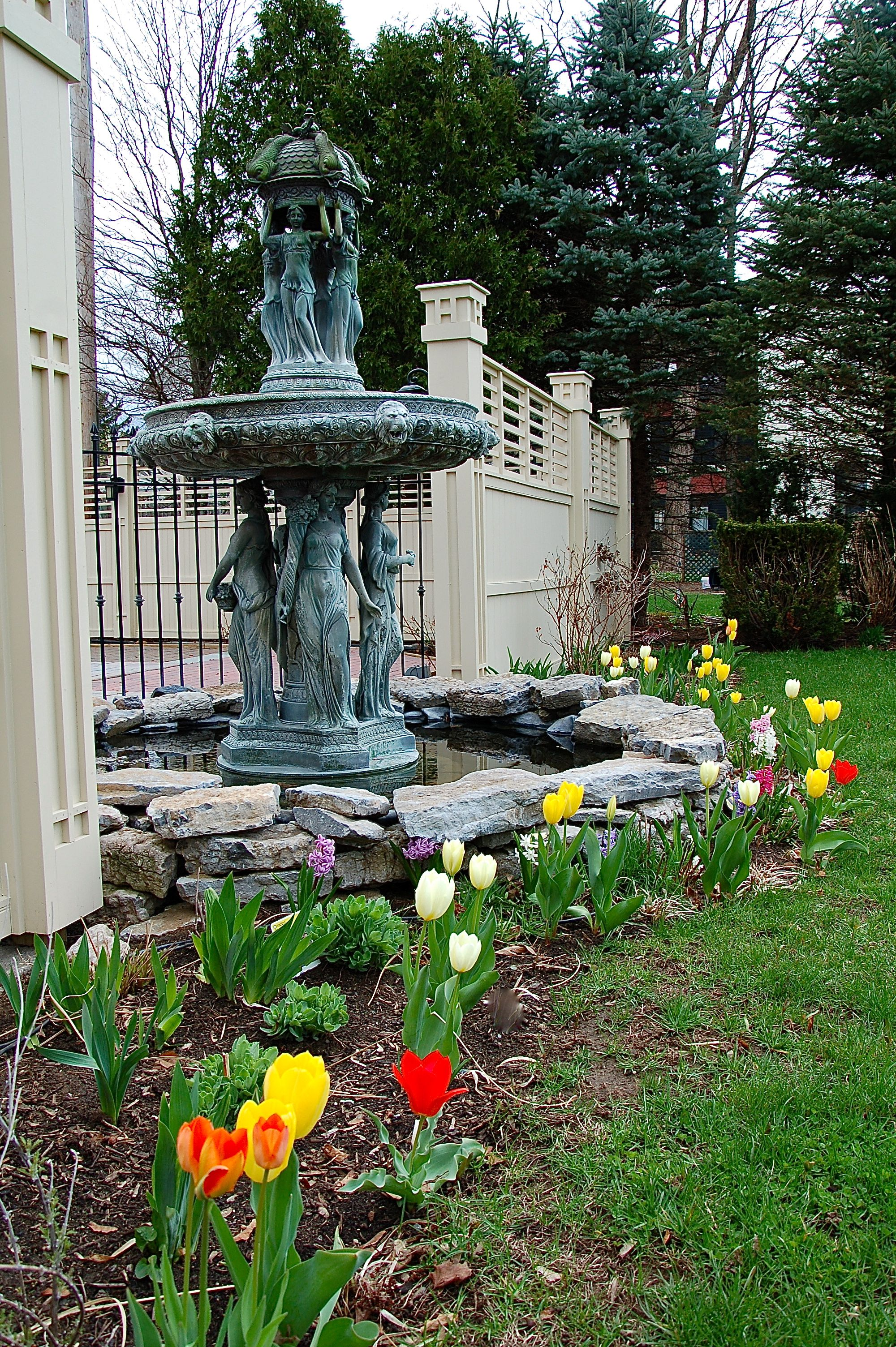 Spring Flowers Are Abloom At Union Gables And Saratoga Springs