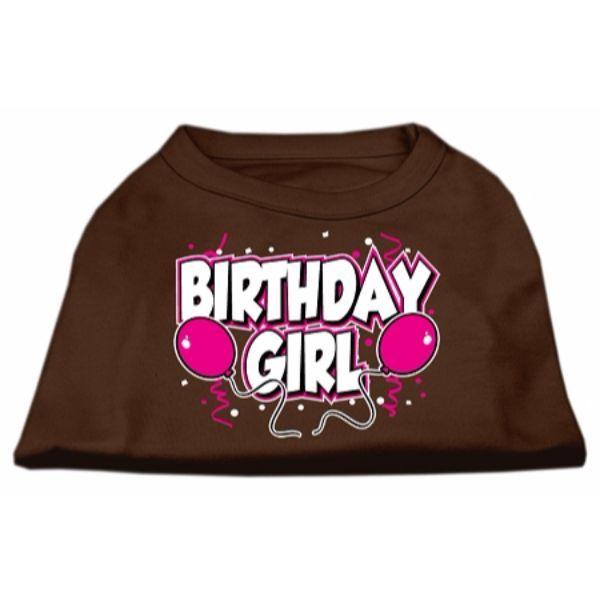 Birthday Girl Screen Print Shirts Brown