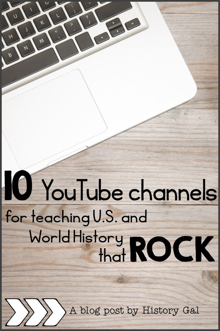 If you teach US or World History youll love these 10 YouTube channels