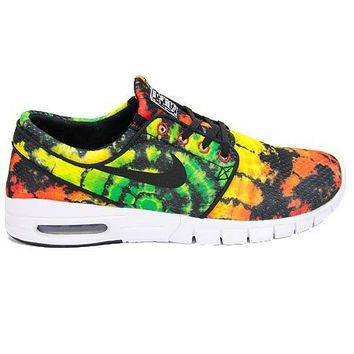 ca9aaa94edc7 Nike SB Stefan Janoski Max Prm-Tour Yellow Green Pulse-Uni Red-Blk    Bare  Wires Surf Shop - Wanelo App for Shopify