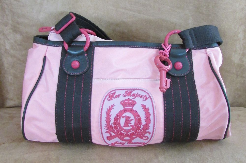 Juicy Couture Pink The Adventures of G P nylon tote Her Majesty diaper bag  purse  JuicyCouture  TotesShoppers 00e883c5fa