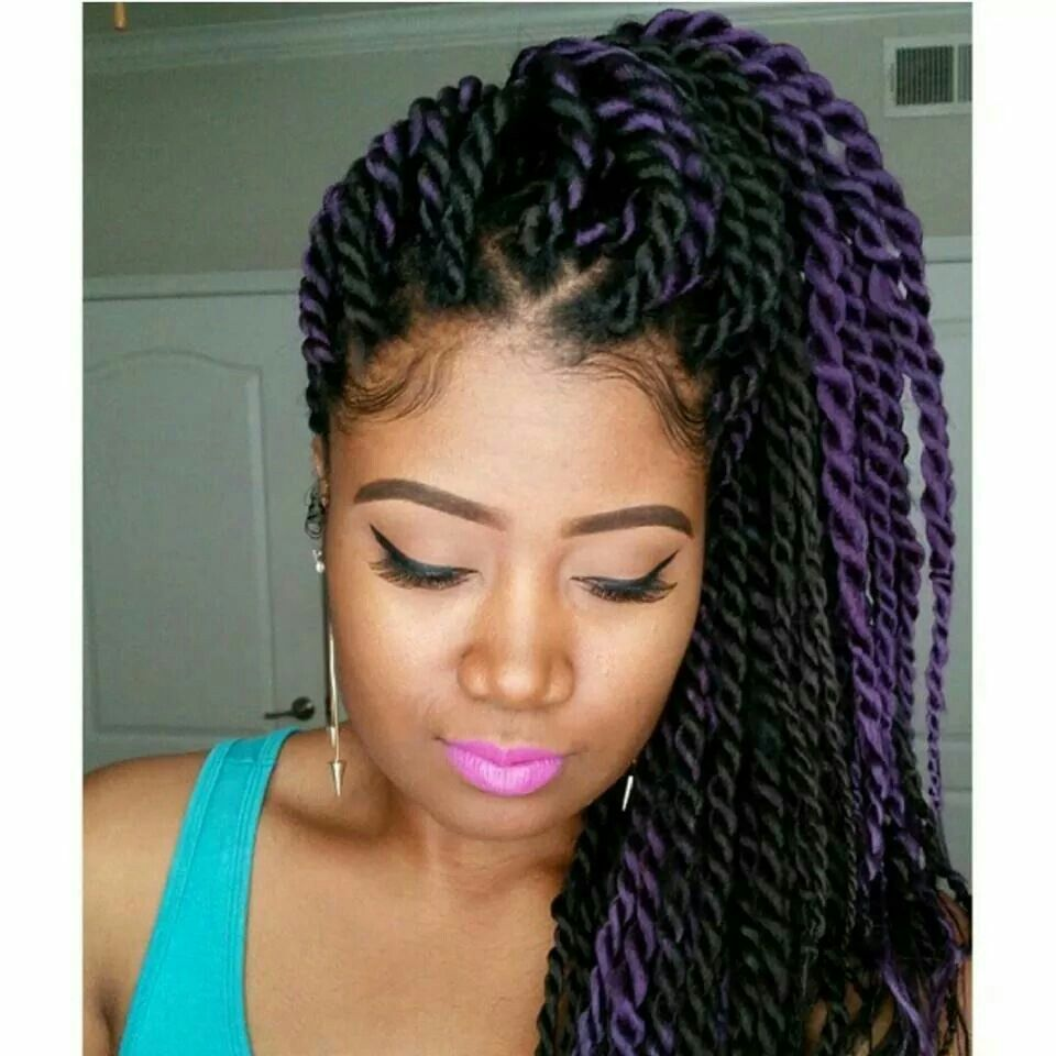 big twists | hair | natural hair styles, braid in hair