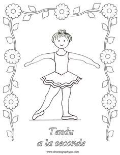 Ballerina Coloring Pages For Kids  httpfullcoloringcom