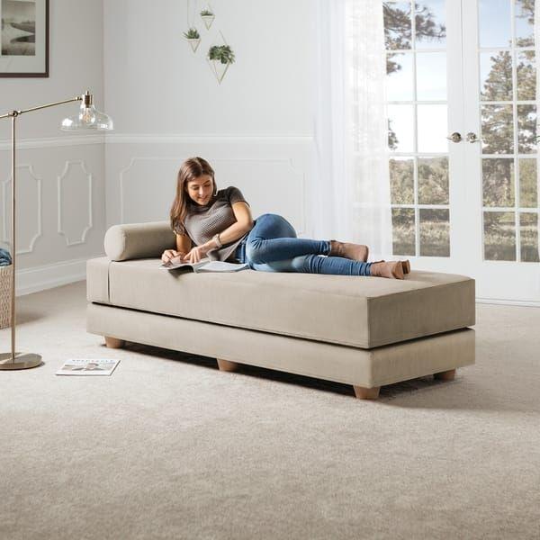 Superb Jaxx Artemis Daybed Queen Size Convertible Sleeper Home Evergreenethics Interior Chair Design Evergreenethicsorg