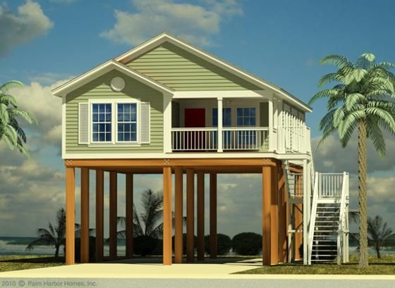 House Plans On Stilts Google Search Tiny Beach House Small Beach Houses House On Stilts
