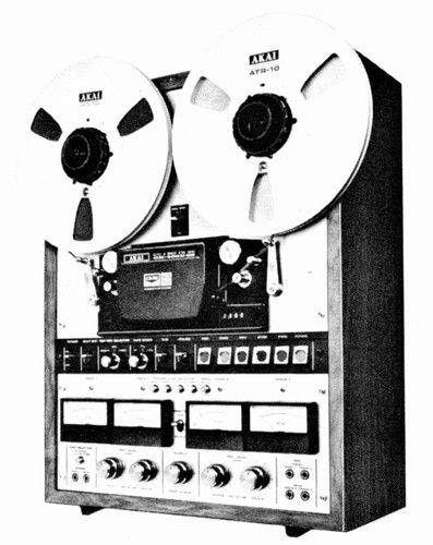 AKAI GX-400D-SS (1975)   4-Channel Tape Decks
