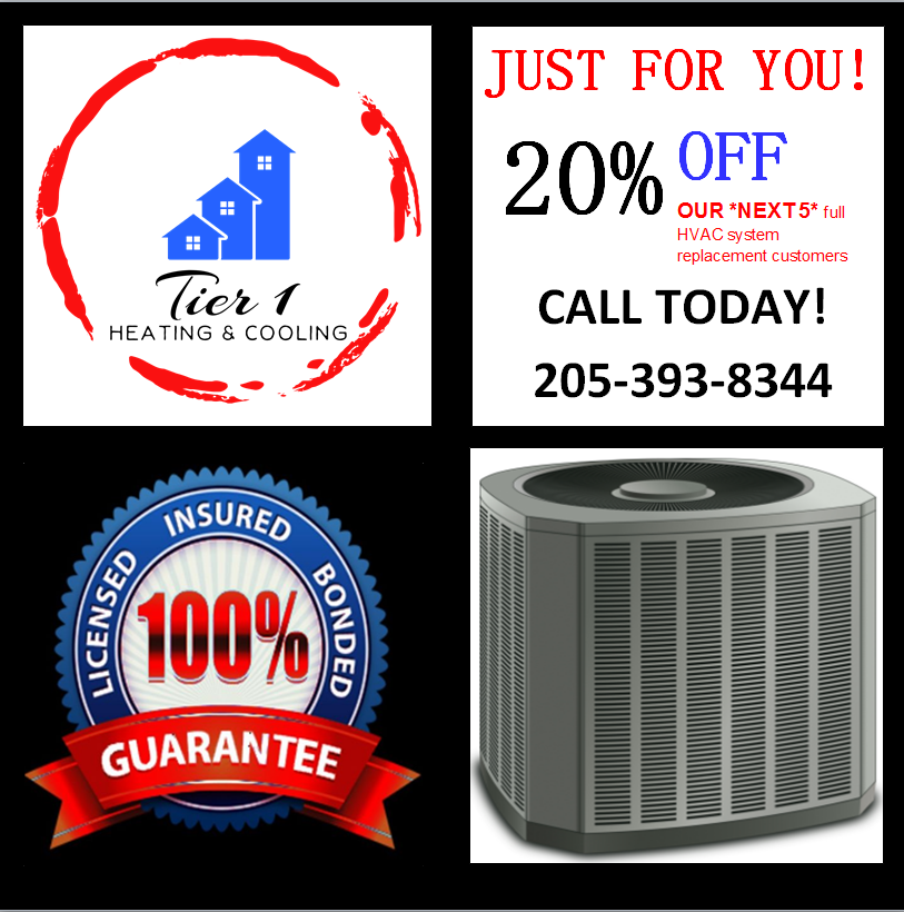 Check it out! Tuscaloosa HVAC Special 2018 Tier 1