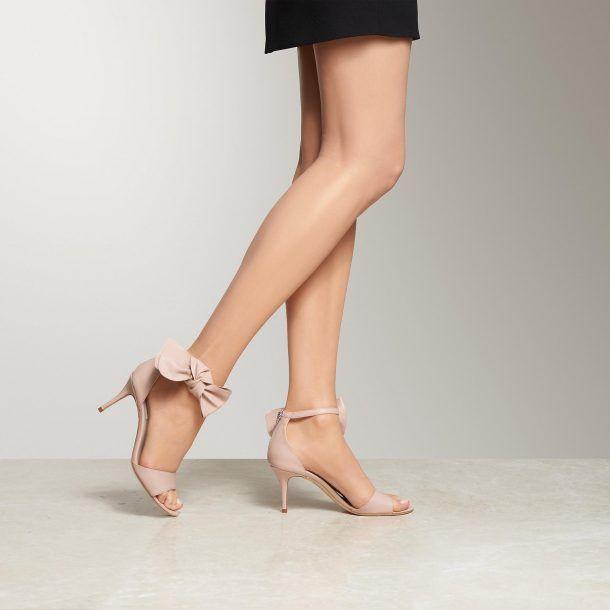 L.K. Bennett Agata Ankle Tie Sandal iYFqbcre