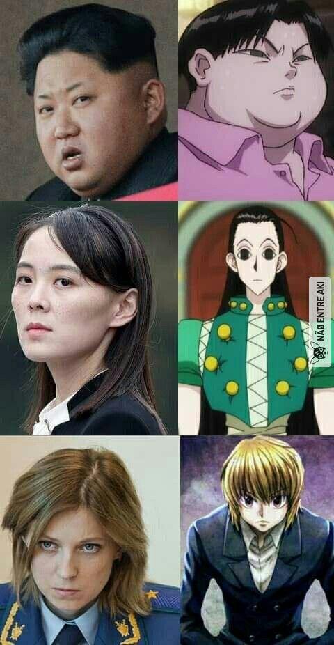 natalia poklonskaya vs kim yo jong in 2020 | Anime funny ...