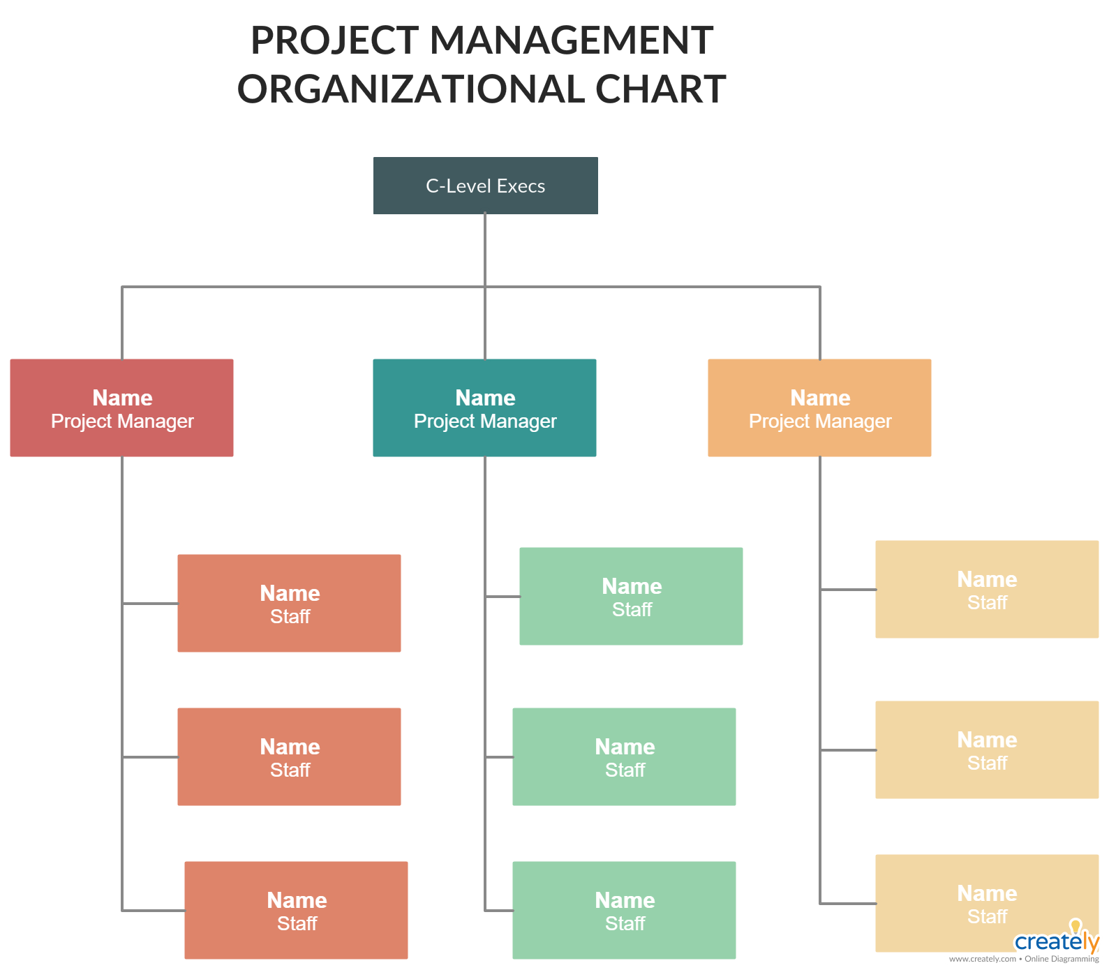 Project Management Organizational Structures - You can edit this