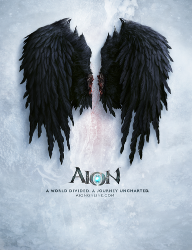 Asmodian Wings Aion Wall Graphics for your empty walls
