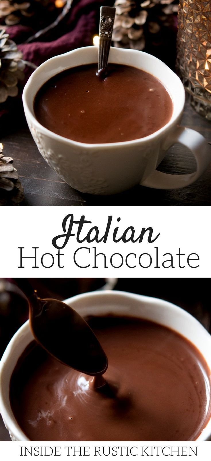 Italian Hot Chocolate #hotchocolaterecipe