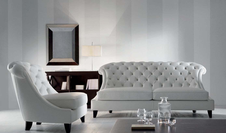 Elegant Mirrors Living Room. Luxury and elegant living room furniture  MAGDA sofa armchair RODRIGO console
