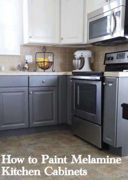 Painting Melamine Kitchen Cabinets Kitchens Melamine Cabinets And