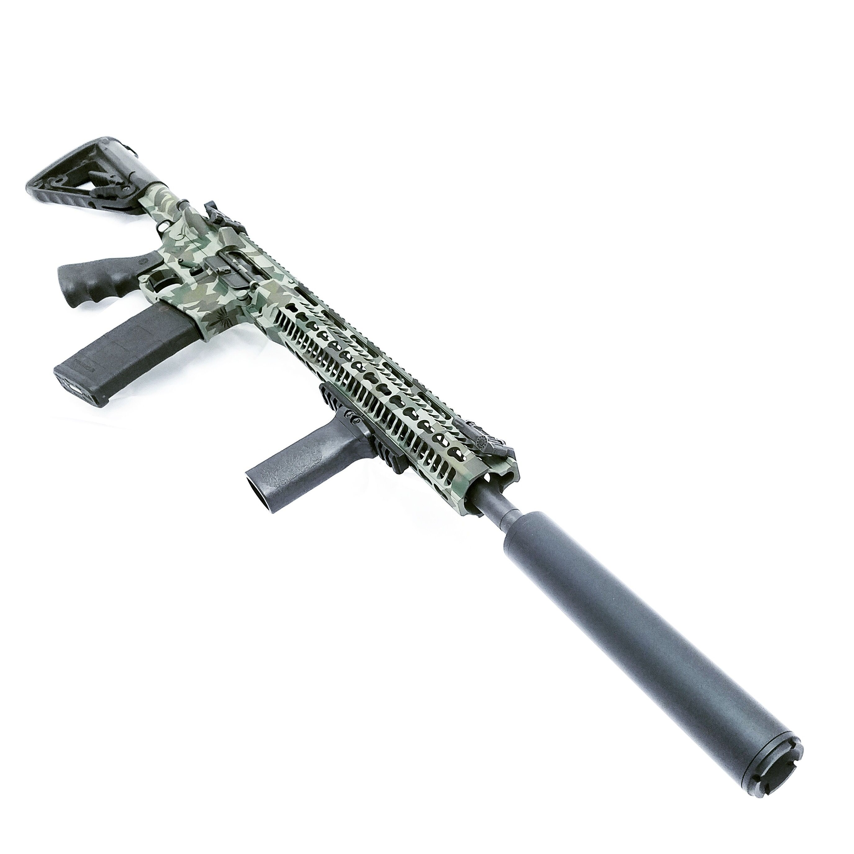 Black Aces Tactical Po' Boy AR15 Suppressor | Weapons | Guns