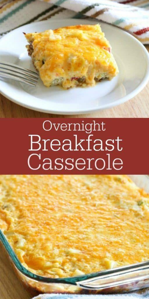 Overnight Breakfast Casserole - All Things Mamma